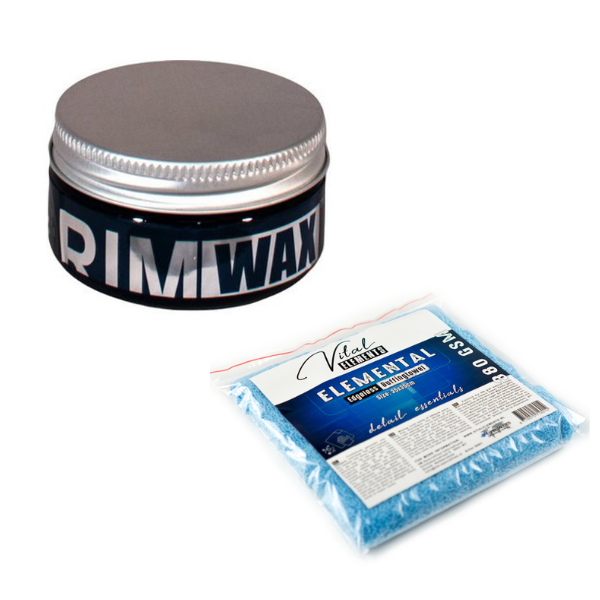 Combinatie Smartwax Rimwax en Element Edgeless Buffingtowel