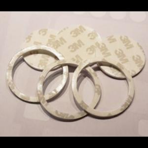 Dubbelzijdige klevende ringen voor poppy