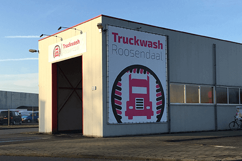 Truckwash 1 in Rilland